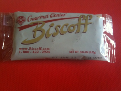 For real? A biscuit does not make two hours sitting on the tarmac more comfortable.