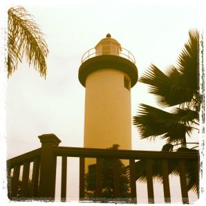 El Faro de Punta Higuero, or Rincon Lighthouse.
