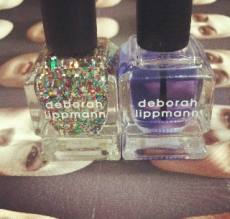 Deporah Lippmann cuticle oil and Happy Birthday polish... for free!