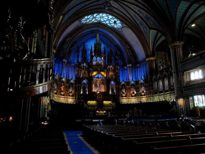 A chapel worthy of Celine.