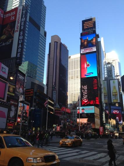 Times Square. Duh.