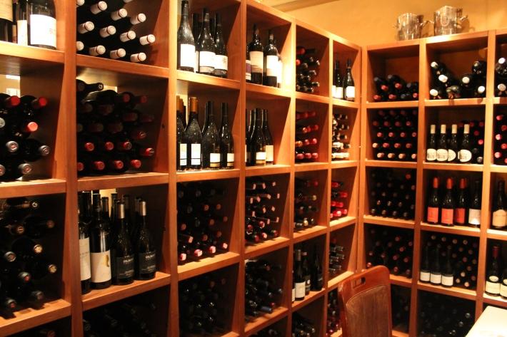Wine. Lots of wine.